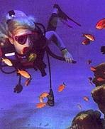 Scuba diving goggles to your prescription